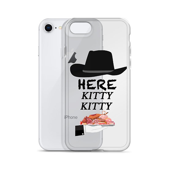 Here Kitty Kitty - iPhone Case