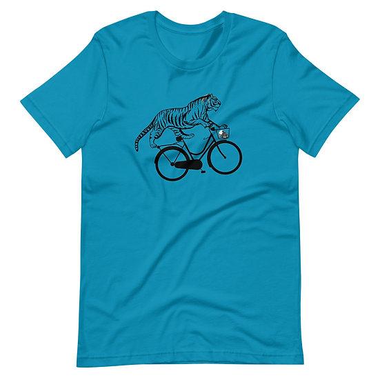 Cool Cat Bike - Short-Sleeve Unisex T-Shirt