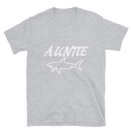 Auntie Shark - Short-Sleeve Unisex T-Shirt
