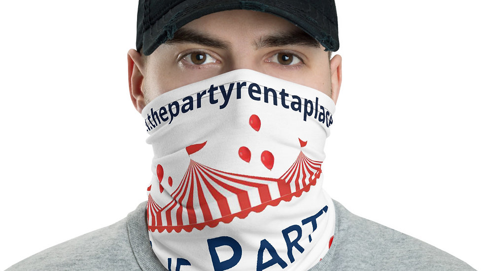 The Party Rental Place Branded Face Mask / Neck Gaiter - Bread For Life Donation