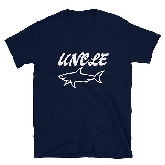 Uncle Shark - Short-Sleeve Unisex T-Shirt