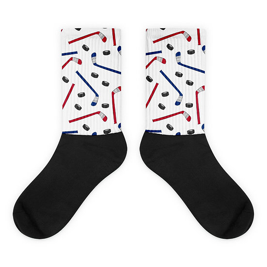 Hockey Pattern - Socks