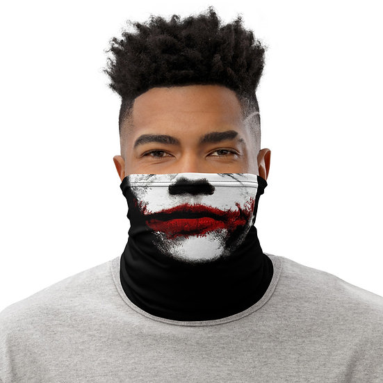 The Dark Night Joker Mask - Neck Gaiter
