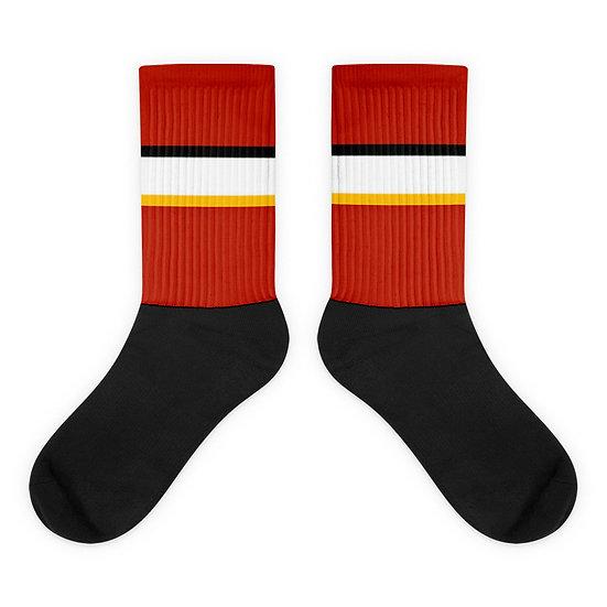 Calgary Flames Home - Socks