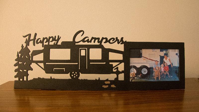 Pop up camper 4x6 picture frame-tabletop