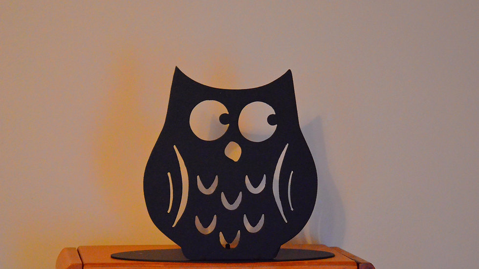 Fat Owl Candle Holder