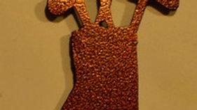 Golf Bag Copper Vein Keychain Bottle Opener
