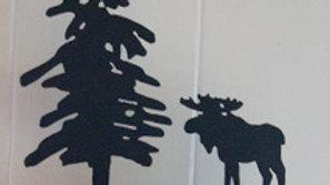 Moose Candle Holder