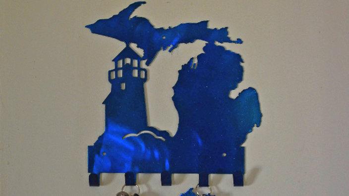 Michigan and Lighthouse Key Holder