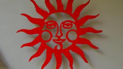 Smiling Sun Wall Hanging