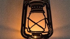 Old Lantern Candle Holder