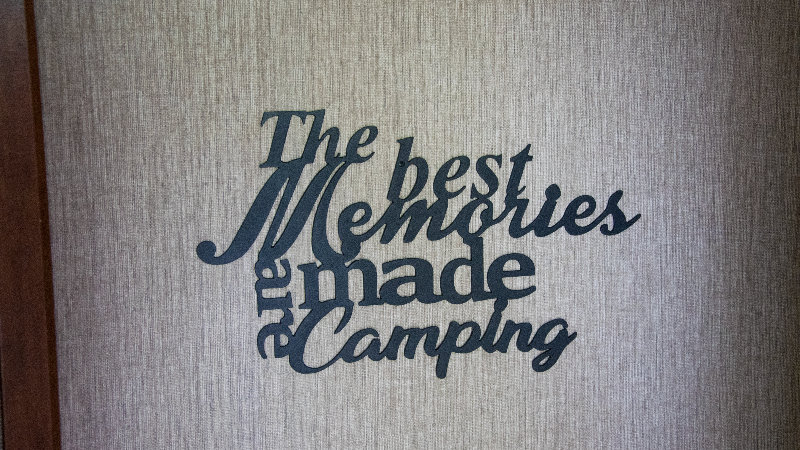 The best memories are made camping wall art
