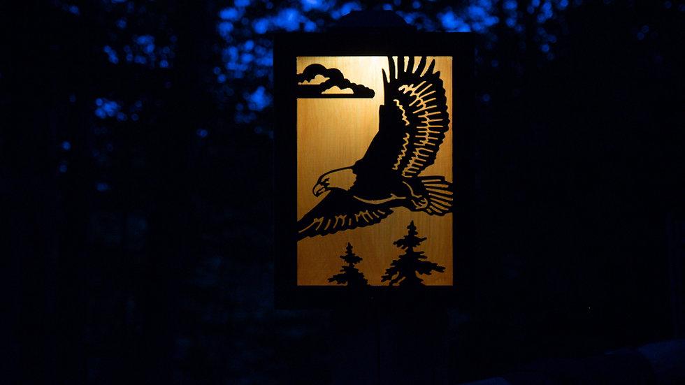 "Eagle solar light box 12"" x 9"""