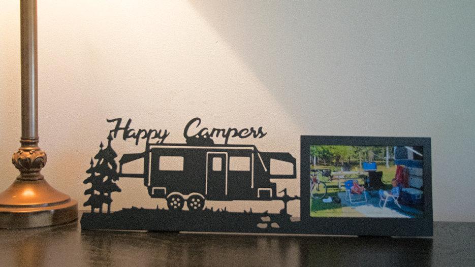 """Hybrid, Happy Campers 4"""" x 6"""" desktop frame"""