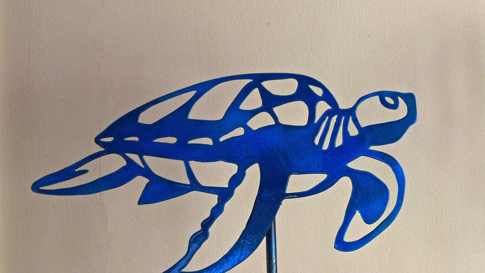 Sea Turtle Garden Stake