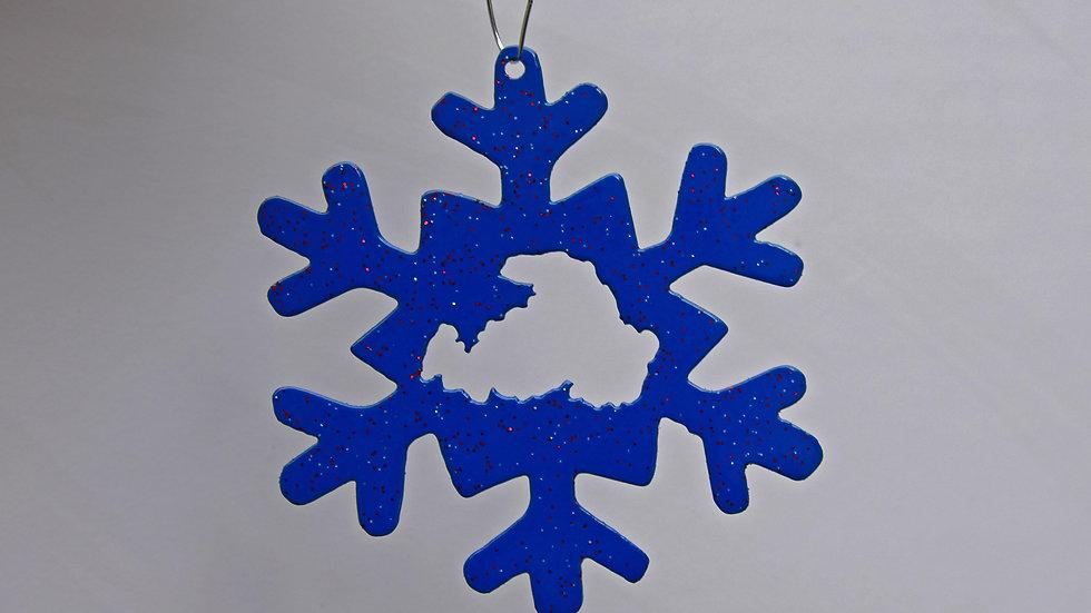 Drummond Island Snowflake Ornament