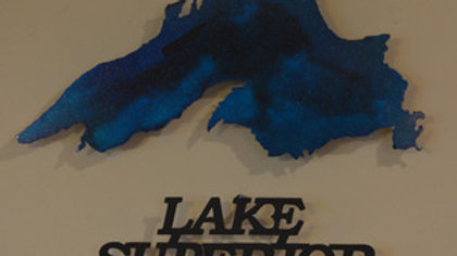 """Lake Superior"" Wall Hanging"
