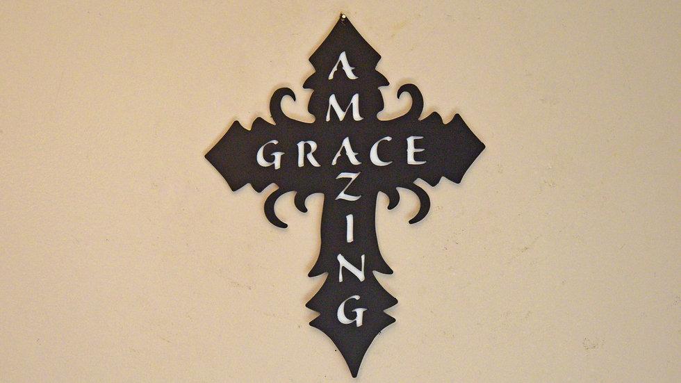 Amazing Grace Cross Wall Hanging