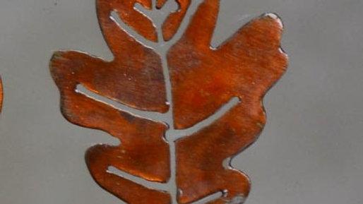 Oak Leaf Keychain