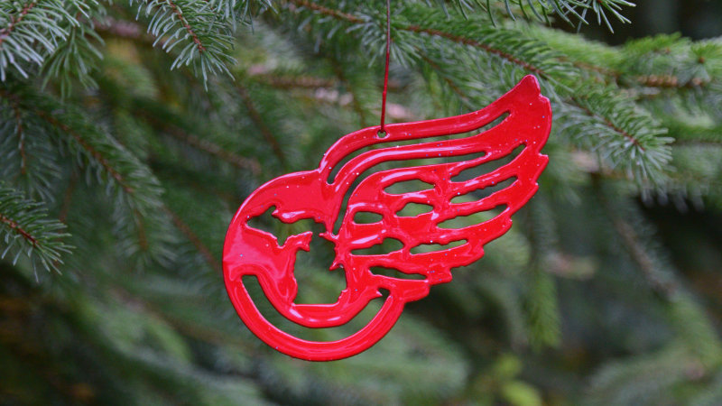 Michigan Red Wings Ornament