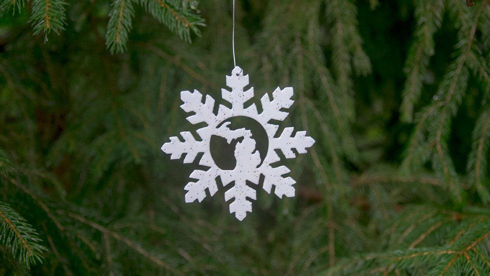Michigan snowflake (style 5)