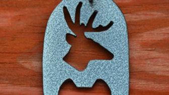 Big Buck Silver Vein Keychain Bottle Opener