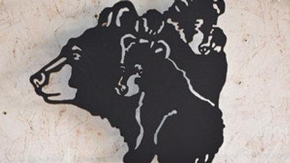 Bear & Cubs Wall Hanging