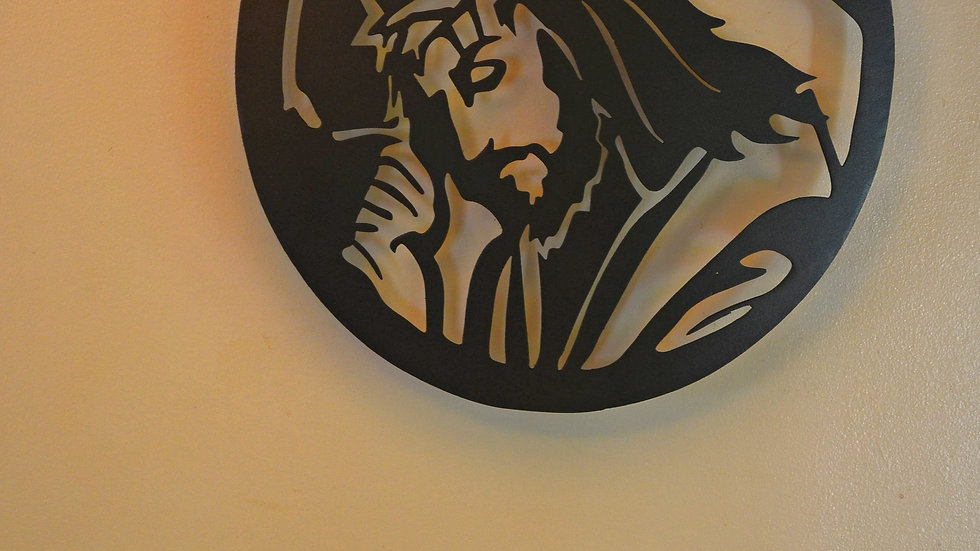 Jesus & Cross Wall Hanging