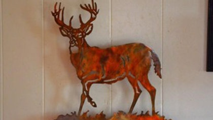 Buck in the Field Wall Hanging
