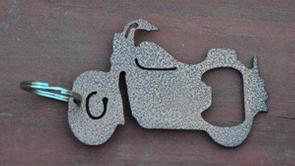 Motor Cycle Copper Vein Keychain Bottle Opener