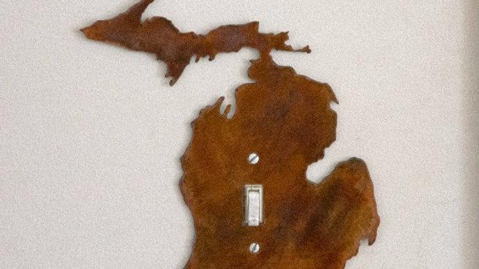 Michigan Single-Toggle Switch Plate