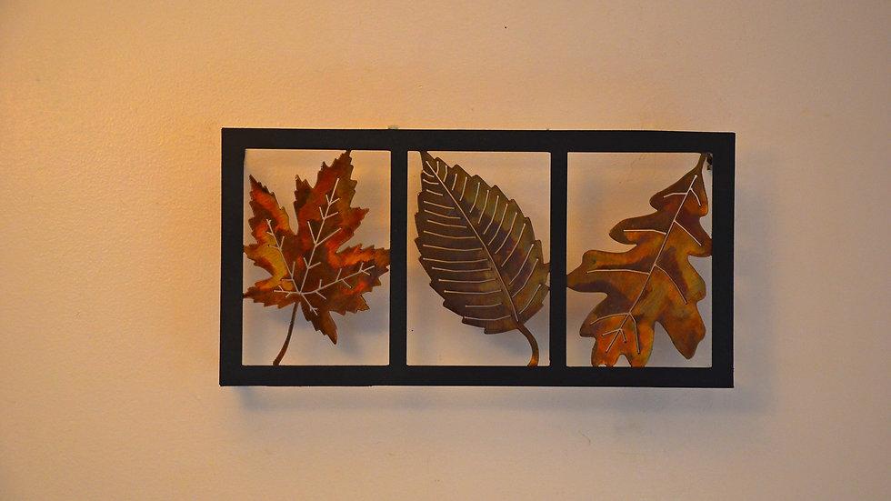 Three Leaf Wall Hanging