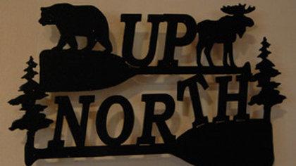 """""""Up North"""" Wall Hanging"""