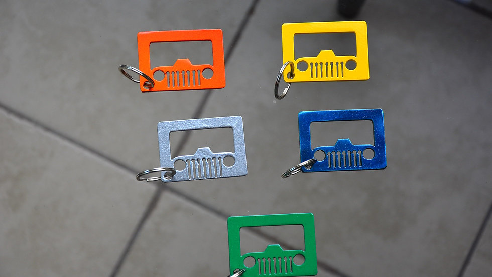 Jeep Keychain Bottle Opener