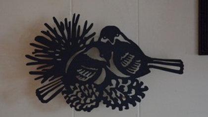 Chickadee Wall Hanging