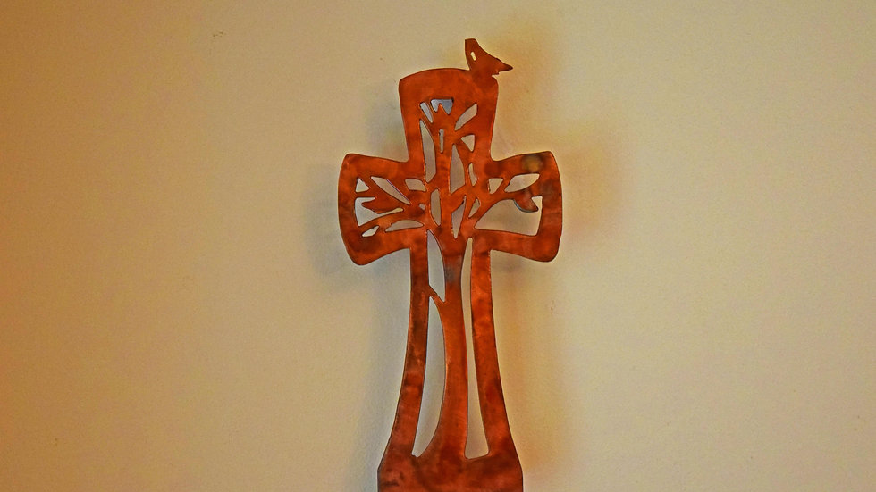 Jeremiah Tree Cross Wall Hanging