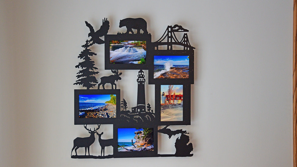 Michigan Five Favorites Picture Frame