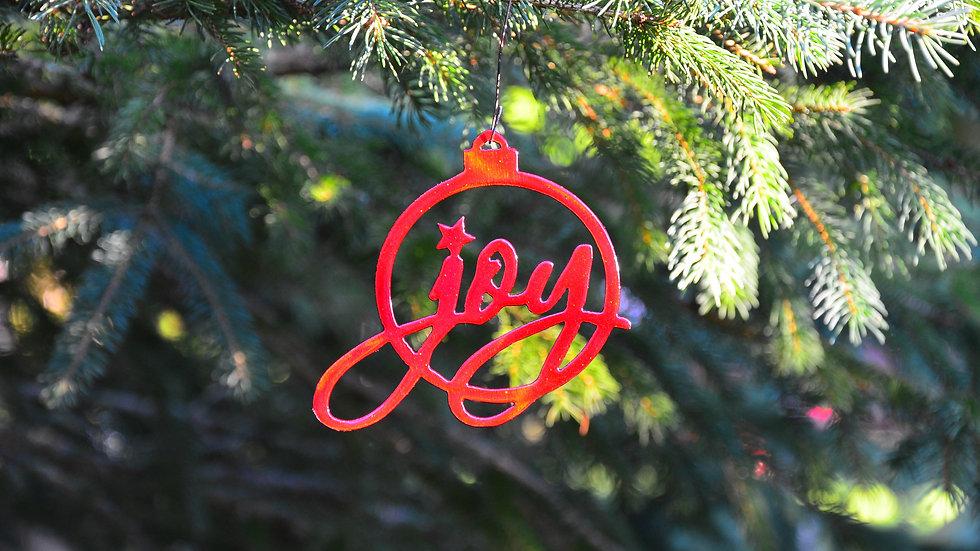"""""""Joy"""" Ornament"""