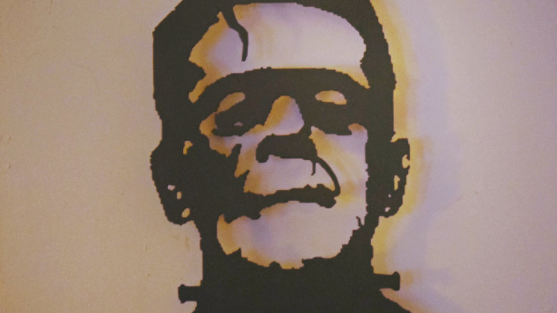 Frankenstein Wall Hanging