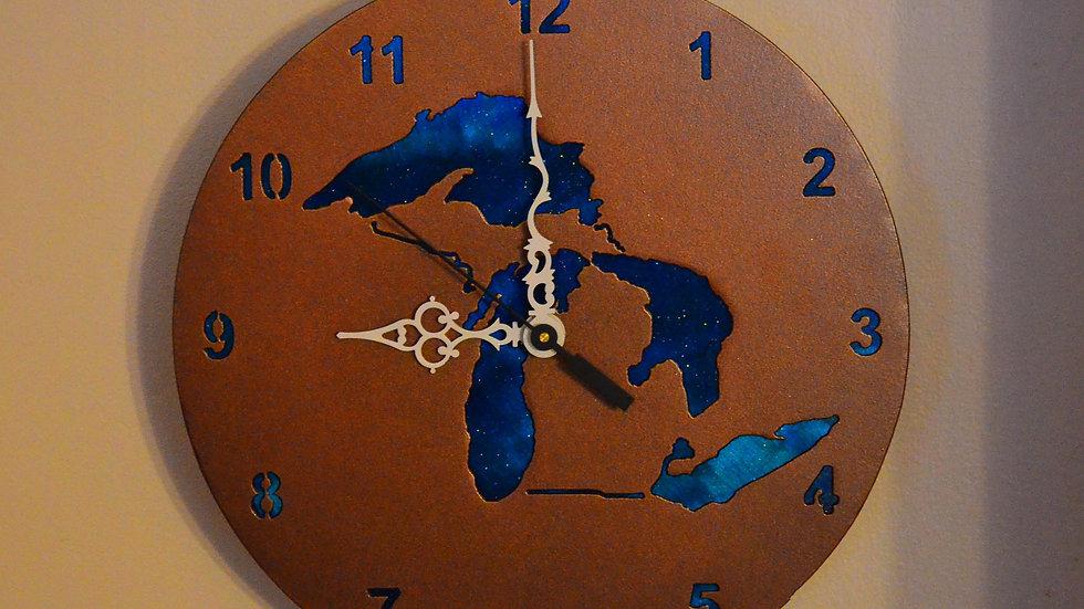 Great Lakes Clock