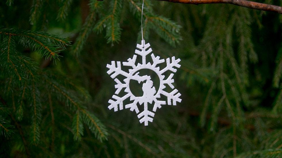 Michigan snowflake (style 7)