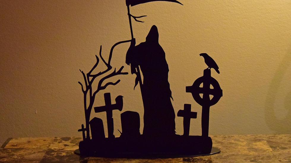 Grim Reaper Tea Light Holder