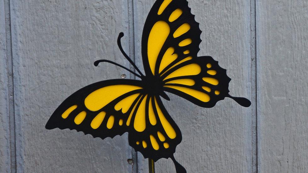Swallowtail Butterfly Garden Stake
