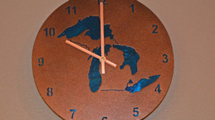 Great Lakes Clock Contemporary Hands