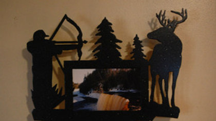 4 x 6 Bow Hunter Wall Picture Frame