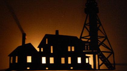 Whitefish Point Lighthouse Candle Holder