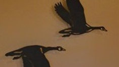 Flying Geese Pair Wall Hanging