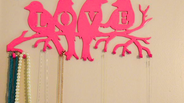 Love Birds Jewelry Holder