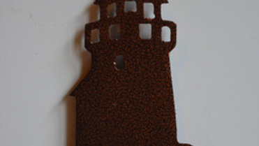 Lighthouse Copper Vein Magnet