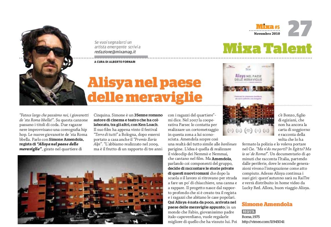 Mixa_Mag - Alberto Fornari